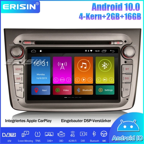Erisin ES3030GM DSP DAB + Android 10.0 GPS Car Stereo Sat Nav CarPlay Wifi OBD Canbus for Alfa Romeo Mito