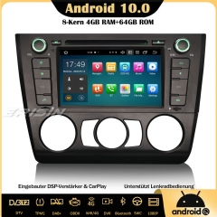 Erisin ES8140B Android 10.0 Car Stereo DAB+ Sat Nav Bluetooth DSP CarPlay OBD DVD Wifi TPMS DTV For BMW 1 Series E81 E82 E88