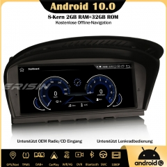 "Erisin ES8159B 8.8"" Android 10.0 Autoradio DAB+GPS IPS CarPlay Wifi SWC Navi DVR For BMW 3/5 Series E90 E91 E92 E93 E60 E61 E63 E64"