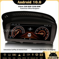 "Erisin ES2660B 8.8"" Android 10.0 Autoradio DAB+GPS IPS CarPlay Wifi SWC Navi DVR For BMW 3/5 Series E90 E91 E92 E93 E60 E61 E63 E64"